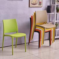 【品牌特惠】北欧塑料椅子家用会议椅电脑椅简约咖啡厅餐椅创意时尚靠背椅