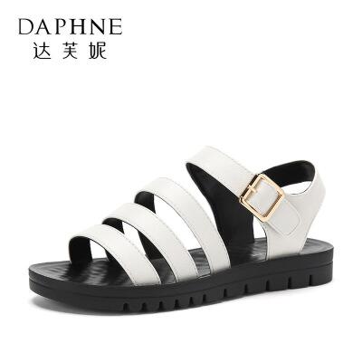 【品牌秒杀 8月22日 0点开抢】Daphne/达芙妮旗下 夏季百搭时尚多款气质凉鞋 支持专柜验货 断码不补货