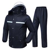 雨衣雨裤套装分体防水男女款骑行徒步全身双层加厚防暴雨雨衣