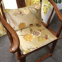 坐垫椅垫中式红木实木家具沙发坐垫古典加厚太师椅餐椅圈椅垫定做