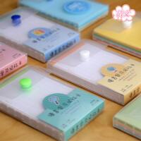 巨门文具 语言学习记忆卡 万用色卡 英语单词本记忆口袋本diy手工卡