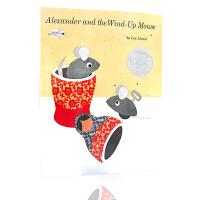 凯迪克银奖 英文原版绘本 Alexander and the Wind-Up Mouse 亚历山大和发条鼠 leo l