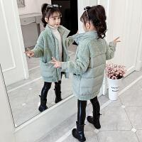 2019秋冬季新款休闲风衣女孩洋气童装女童外套