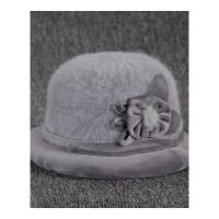 秋冬季中年妈妈礼帽女士中老年人盆帽渔夫帽老人帽子女奶奶保暖 均码可调节