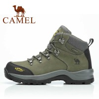 CAMEL骆驼户外登山鞋 徒步鞋高帮防水保暖 82026604