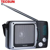 德生 R-208收音机 2节1号电池 省电耐用 老年人收音机