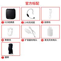【优选】 S613 2.4G无线小扩音器教师蜜蜂扩音器大功率喊话器喇叭