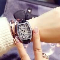 手表女满天星潮流女士防水石英表