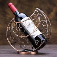 红酒架摆件酒架葡萄酒展示架酒柜架装饰品家具欧式摆设客厅家居饰品酒瓶架