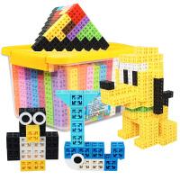 卡塔米诺塑料拼装六面拼插积木小3-6周岁7岁男孩玩具 俄罗斯方块+金字塔之巅 336粒+54配件