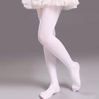 儿童舞蹈袜连裤袜白色春秋季女童芭蕾连脚袜厚成人练功裤长筒丝袜