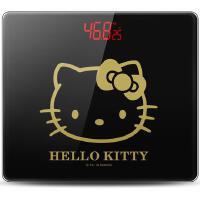 香山(Hello Kitty)KB9395 电子秤 人体称 体重秤 精准 正版卡通授权(高贵黑)