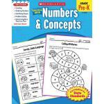 【预订】Scholastic Success with Numbers & Concepts, Grade Pre-K