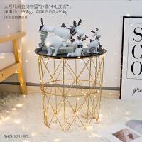 【优选】ins北欧家居装饰房间的小饰品摆件卧室客厅新婚礼物创意鹿摆设品 0