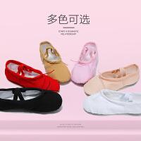 女童民族舞儿童帆布猫爪鞋软底芭蕾舞练功鞋儿童舞蹈鞋
