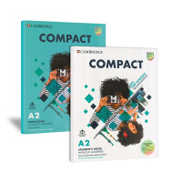 2020年新大纲官方剑桥KET校园青少版A2考试专用教材 Compact Key for Schools 学生套装[学生书+练习册] 第二版