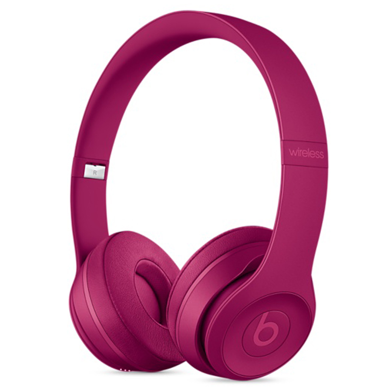 Beats Solo3 Wireless 头戴式耳机 深砖红 MPXK2PA/A 国行正品 全国联保