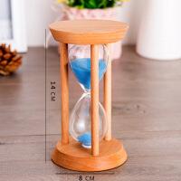 实木时间沙漏15/20/30分钟计时器学生定时桌面摆件女生情人节礼物