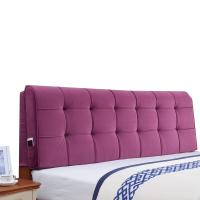 床头靠垫 双人布艺床上软包榻榻米无床头大靠背床头板靠枕床头罩定制