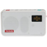 包邮+赠5v电源插头!Tecsun/德生ICR-100插卡收音机 广播半导体 老年人收音机