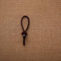 汽车钥匙扣挂件 车载檀木莲花编织绳钥匙链小车挂饰品女