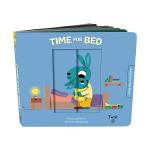 【预订】【Pull and Play拉玩书】Time for Bed 该睡觉了 英文原版儿童互动童书
