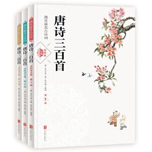 唐诗三百首 遇见最美古诗词 美绘本 套装共3册