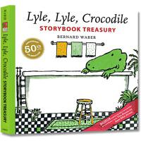 英文原版绘本 Lyle Lyle Crocodile 鳄鱼莱尔故事集 4个故事合辑 Bernard Waber 汪培�E
