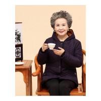 加厚老人棉衣中老年人女装妈妈装冬装外套60-70岁奶奶装棉袄 酒