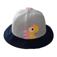 宝宝渔夫帽春秋洋气小孩童帽女童太阳帽男童盆帽儿童遮阳帽潮