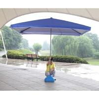 超大号户外遮阳伞折叠四方伞太阳伞方伞大雨伞摆摊广告伞3米定制