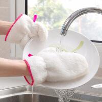 【好货】抖音洗碗手套竹纤维防水去油污家用清洁手套