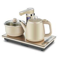 【优选】全自动上水电热水壶 家用抽水式烧水壶 功夫茶电磁炉茶具茶炉套装