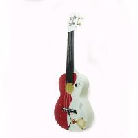 支持货到付款 Vorson 24寸 彩印 尤克里里 ukulele 乌克丽丽 小四弦 夏威夷小吉他 乌克丽丽 四弦琴