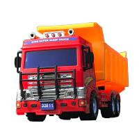 大号惯性翻斗车工程车运输卡车大货车模型小孩子儿童玩具宝宝男孩