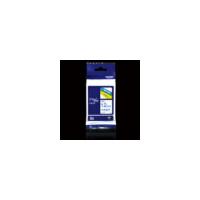 原装正品 兄弟标签机色带TZE-233 白底蓝字 12mm宽 兄弟TZe-233