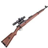 玩具awm手动水晶珠弹枪98k可发射软弹男孩绝地吃鸡求生儿童玩具枪水晶弹 军魂(送四倍镜 电筒) 射程可达15-20米