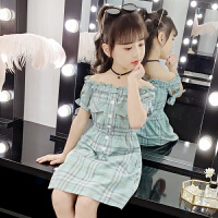 2019夏季新款儿童童装裙子女孩韩版洋气公主裙女童夏装连衣裙