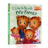 英文原版绘本Daniel老虎丹尼尔系列I Like to be with my Family我喜欢和我的家人在一起儿童
