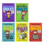顺丰发货 英文原版桥梁书 章节书 Roscoe Riley Rules 罗斯科・莱利规则 7本套装 心地善良但却总是好
