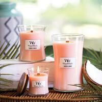 香薰蜡烛WW无烟木质烛芯精油香氛礼物 大杯