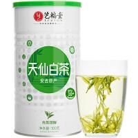 艺福堂茶叶 正宗明前特级安吉白茶 绿茶100克/罐