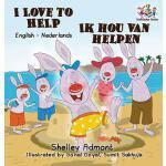 【预订】I Love to Help: English Dutch Bilingual Children's Book
