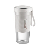 摩飞(Morphyrichards)榨汁机 便携式充电迷你无线果汁机料理机随行杯MR9600 椰奶白
