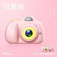 新款四代迷你儿童相机单反双镜头运动玩具照相机礼品