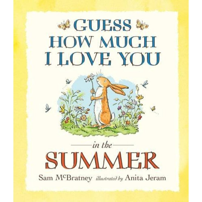 Guess How Much I Love You in the Summer Board Book