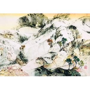 中国艺联副主席,中国翼书画协会主席 秦兴田(山水13)ZH151