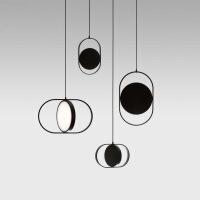 精美护眼时尚后现代创意五金客厅吊灯艺术餐厅卧室床头设计师吊灯精美时尚吊灯