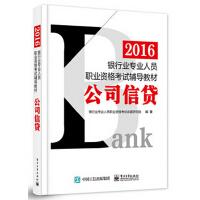 2016银行业专业人员职业资格考试辅导教材:公司信贷