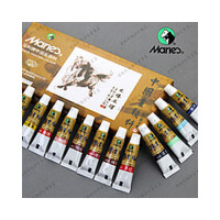 马利12色5ML国画颜料 国画套装 国画颜料 国画用品 专卖